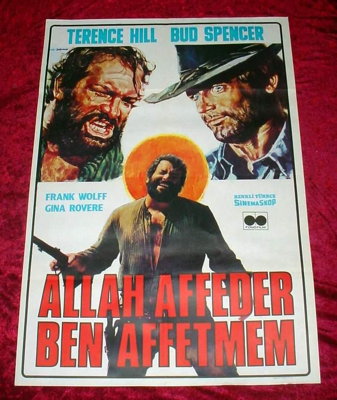 Western Cowboy Film Afişeri Godforgives2